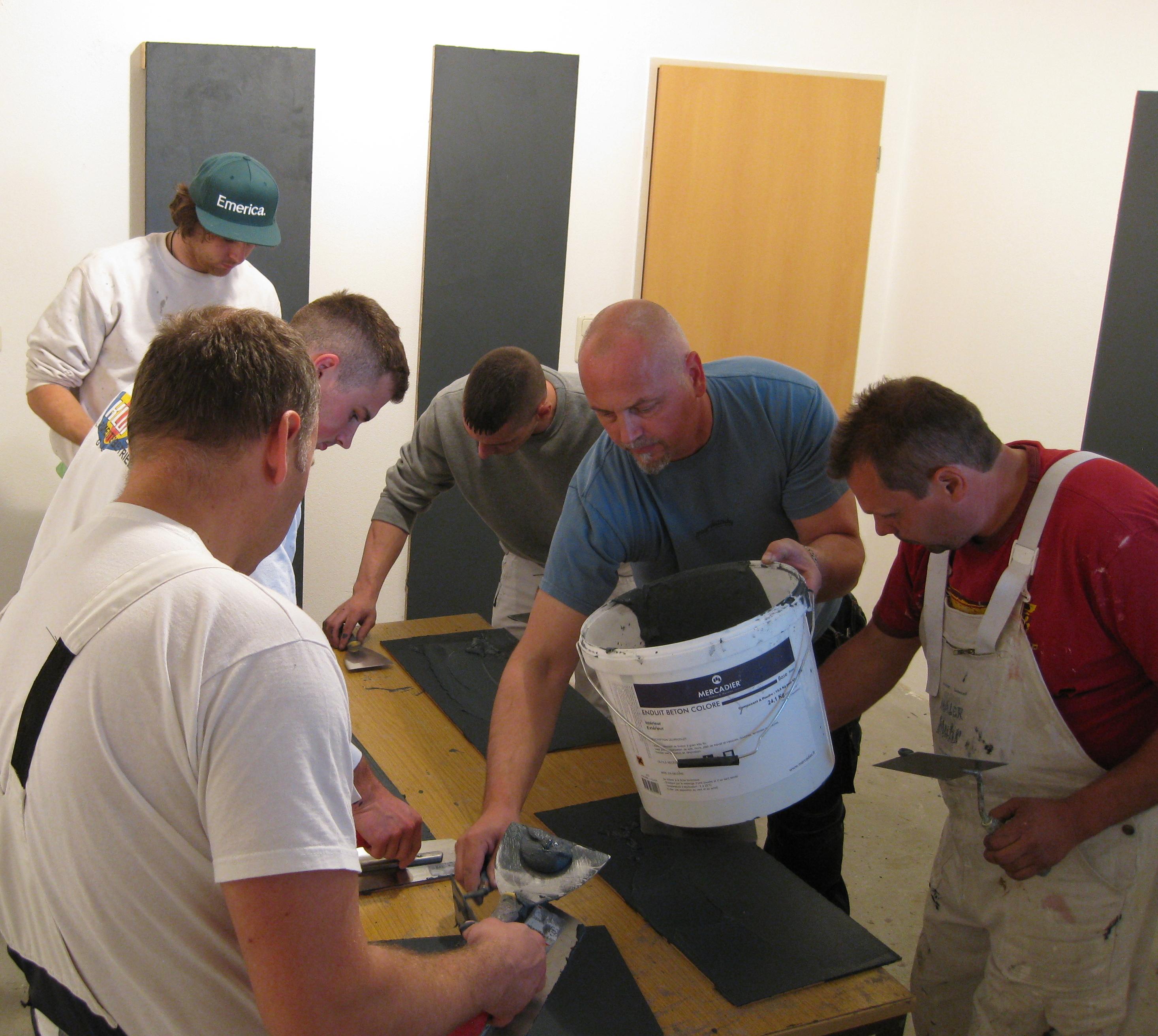Beton² Beton Cire Workshop