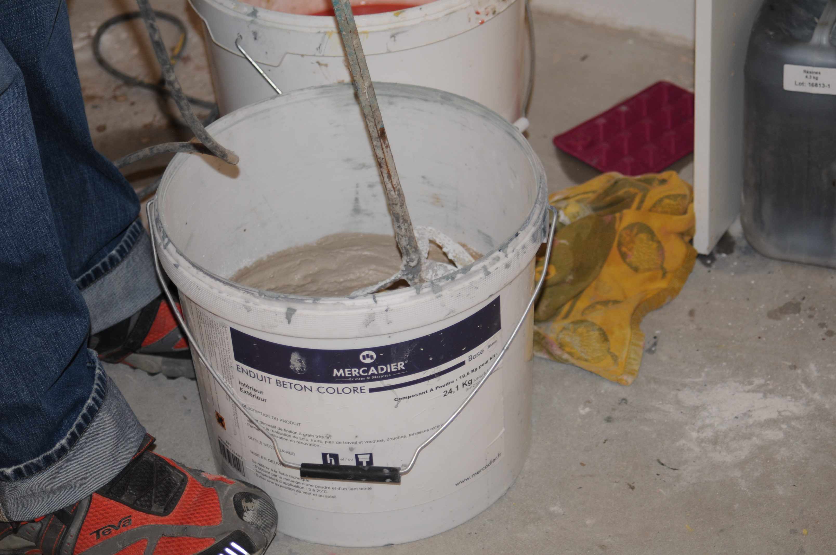 Workshop Beton² Materialkunde
