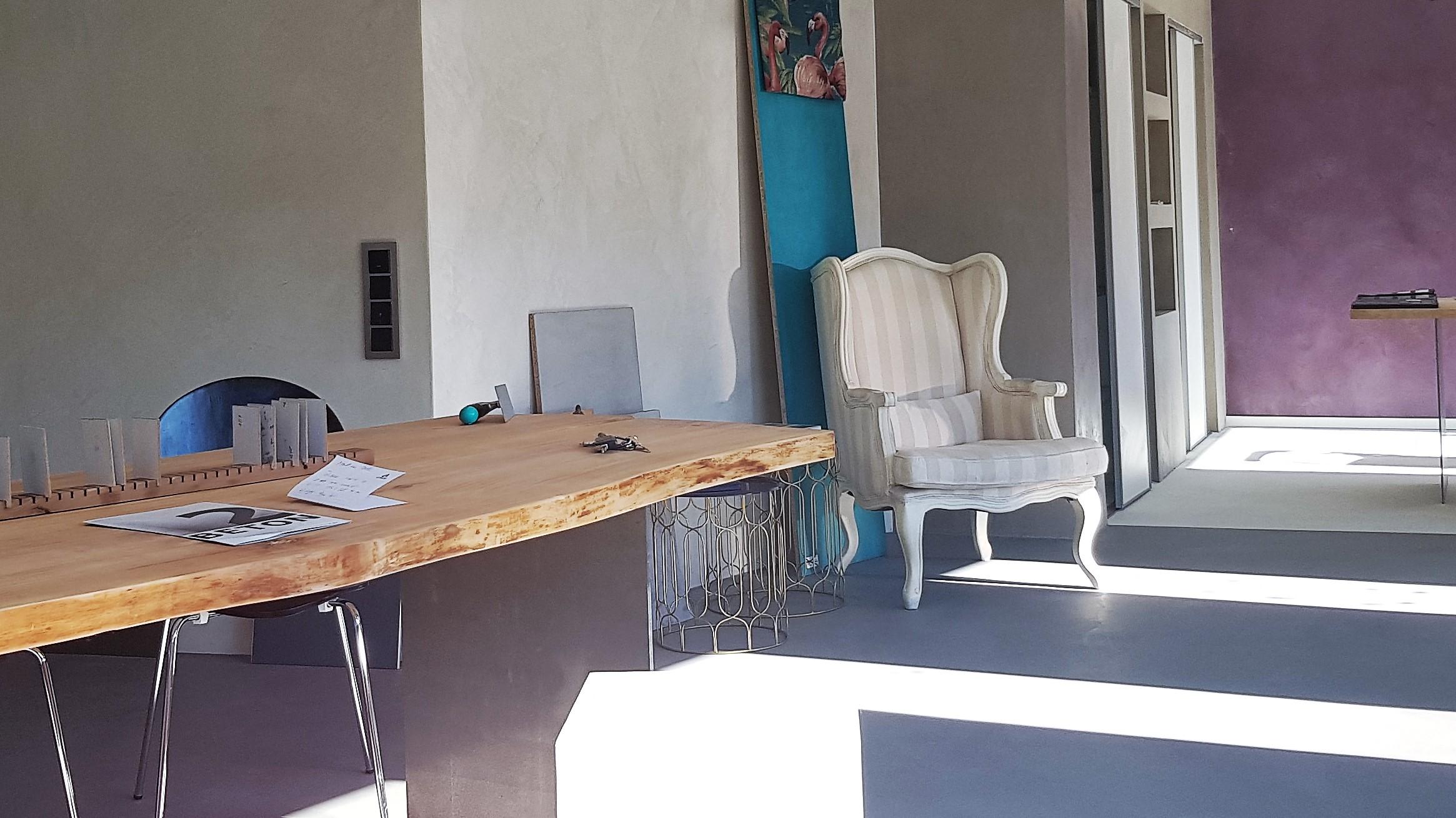 Beton Cire Showroom : Showroom beton² beton ciré willkommen bei beton²
